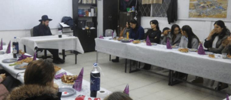 כנס מתנדבות לפתיחת מועדונית חדשה באופקים בהשתתפות הרב גרינברג